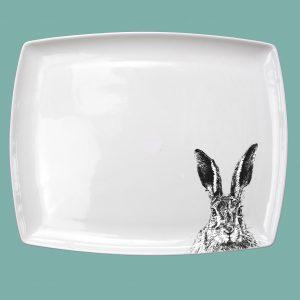 Breakfast platter solemn hare