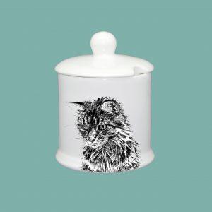 Condiment Pot Cat