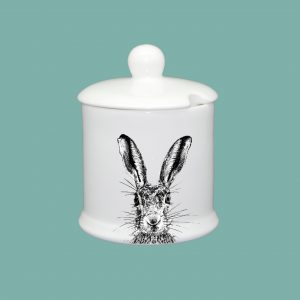 Condiment Pot Sassy Hare