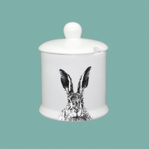 Condiment Pot Solemn Hare