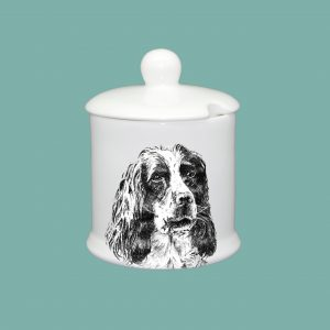 Condiment Pot Spaniel