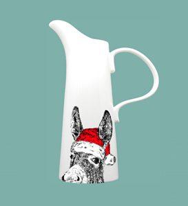 new XLarge Jug Christmas Donkey