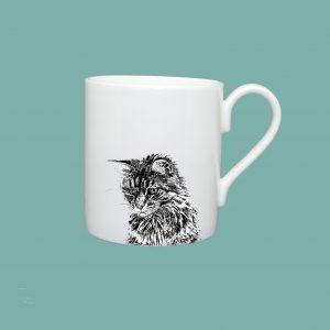 Small mug cat