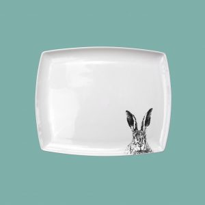 Breakfast Platter small Solemn Hare