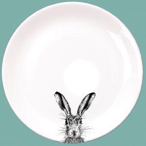Dinner Plate Sassy Hare