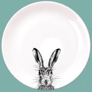 Sassy Hare Dinner Plate