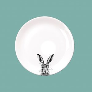Side Plate Sassy Hare