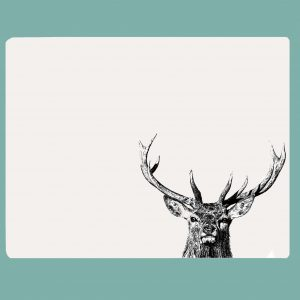 Table mat majestic stag