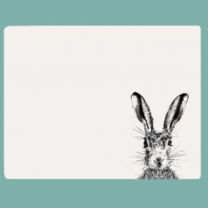 Table mat sassy hare