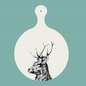 chopping board imperial stag