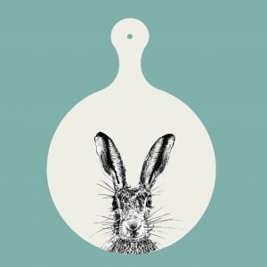 chopping board sassy hare