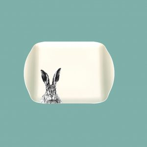 melamine small solemn hare