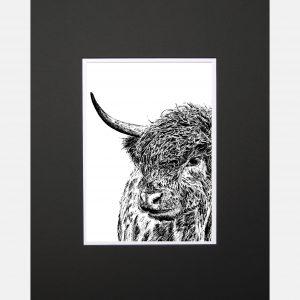 LE print Curious Coo black - Copy