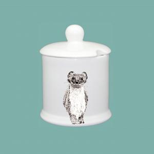 Condiment jar stoat