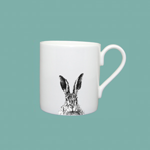 Espresso cup solemn hare