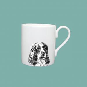 Espresso cup spaniel