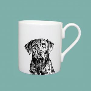 Large mug labrador
