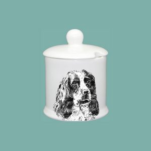 Spaniel Condiment Jar
