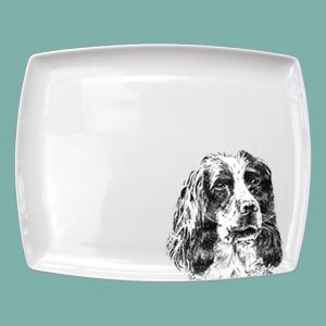 Spaniel Large Breakfast Platter