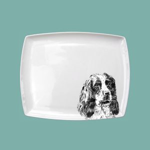 Spaniel Small Breakfast Platter
