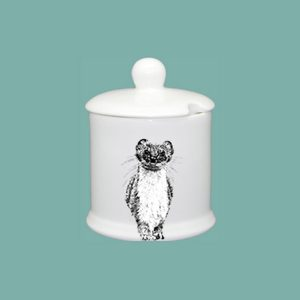 Stoat Condiment Jar