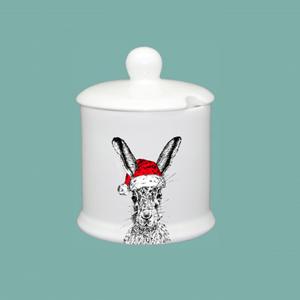 Condiment Pot Christmas Sassy