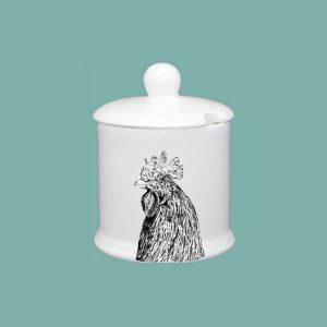 Chicken Condiment Jar