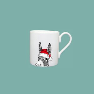 Christmas Donkey Espresso Cup