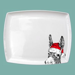 Christmas Donkey Large Breakfast Platter