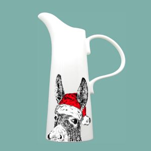 Christmas Donkey Large Jug