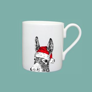Christmas Donkey Large Mug