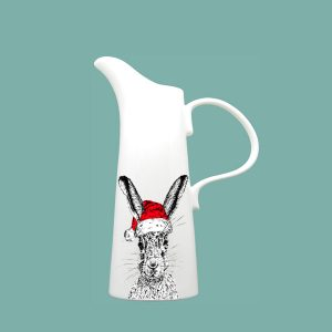 Christmas Sassy Hare Medium Jug