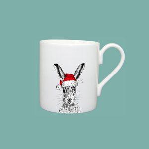 Christmas Sassy Hare Standard Mug