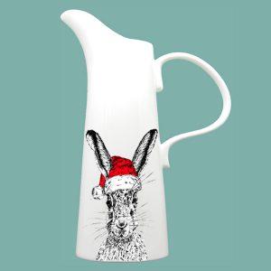 Christmas Sassy Hare X Large Jug