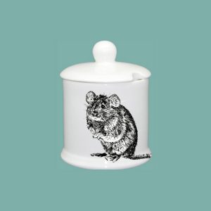 Mouse Condiment Jar