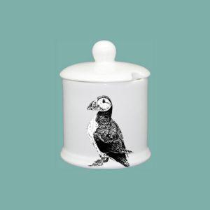Puffin Condiment Jar