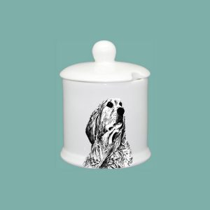 Retriever Condiment Jar