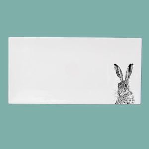 Shy Hare Large Breakfast Tray