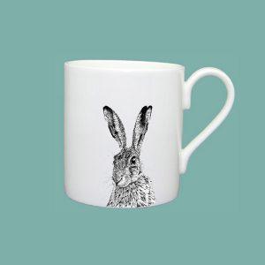 Shy Hare Large Mug