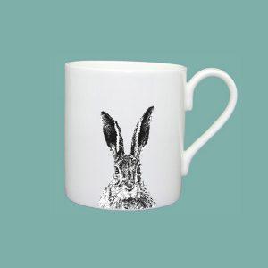 Solemn Hare Large Mug