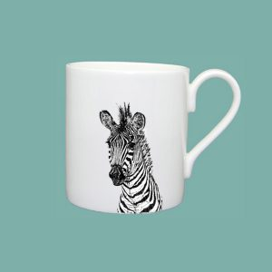 new zebra large mug