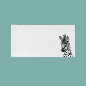 new zebra medium breakfast tray