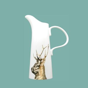 Gold imperial stag medium jug