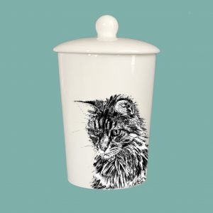 Storage Jar Cat