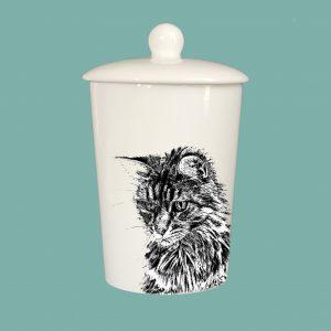 Storage Jar Cat