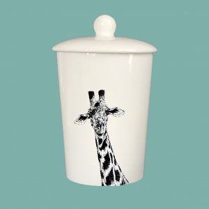 Storage Jar Giraffe