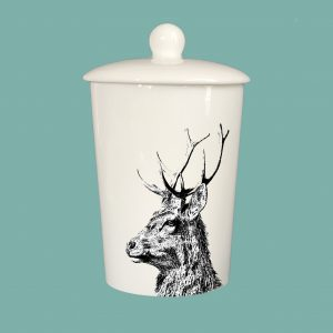 Storage Jar Imperial Stag