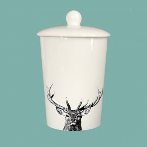 Storage Jar Majestic Stag