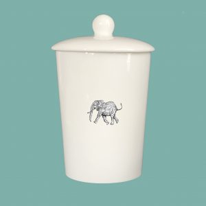 Storage Jar NIM Elephant