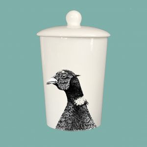 Storage Jar Pheasant